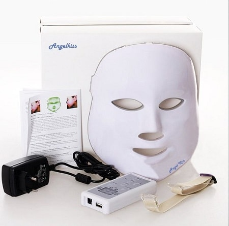 angel kiss led face mask infrared light therapy. Black Bedroom Furniture Sets. Home Design Ideas
