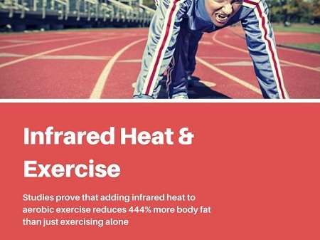 exercise and infrared radiation for cellulite