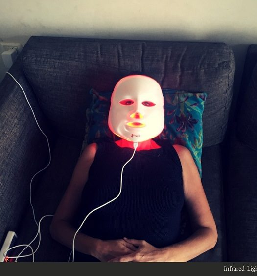 led face mask review