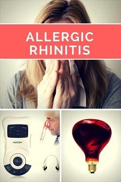 infrared for allergic rhinitis