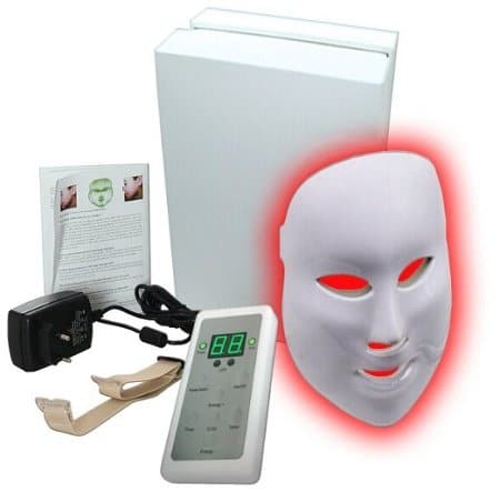 The top 4 led light therapy face masks for anti aging acne 2018 led light therapy face mask solutioingenieria Gallery