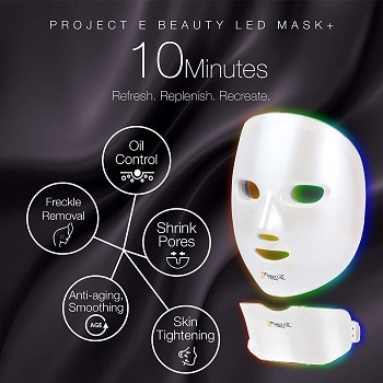 LED face mask for face and neck