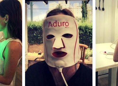 aduro led mask review and trial