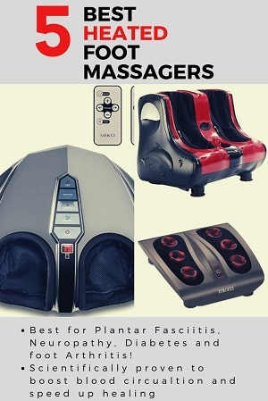 heated infrared foot massagers