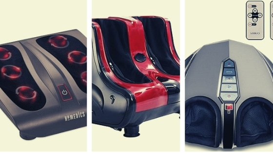 infrared heated foot massagers