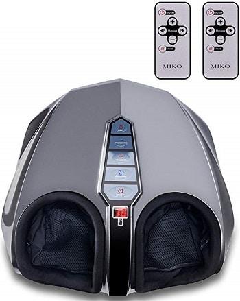 shiatsu infrared foot massager