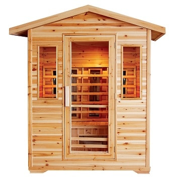 cayenne 4 person outdoor infrared sauna