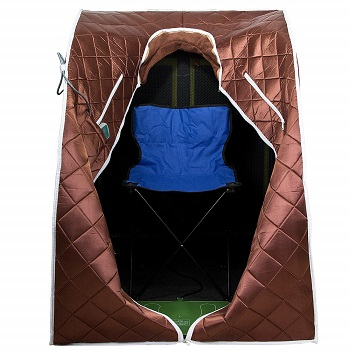 low emf portable infrared sauna tent review