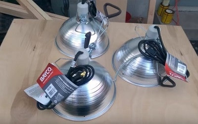 diy infrared lamp