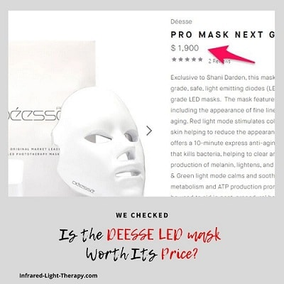 deesse pro led mask review