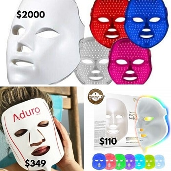 deesse led mask comparison with other led masks