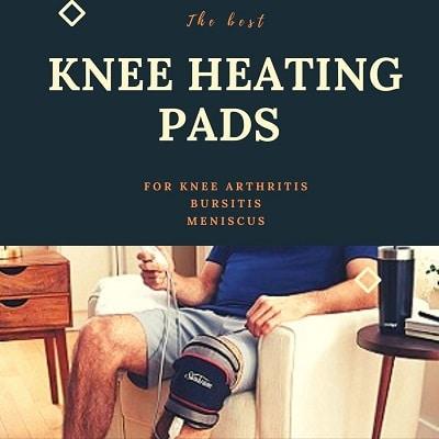 best knee heating pads braces wraps
