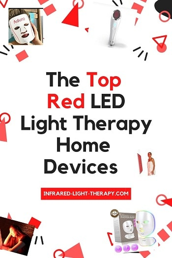 red led light therapy at home devices