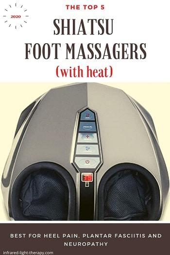 best shiatsu foot massagers with heat