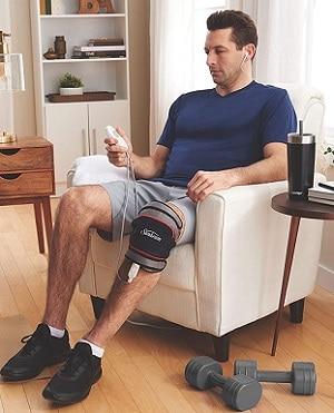 sunbeam flextemp joint wrap for knee arthritis and tennis elbow