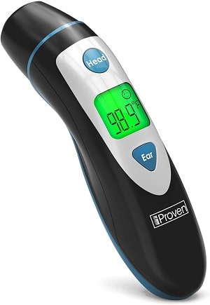 iproven dmt 489 forehead and ear thermometer
