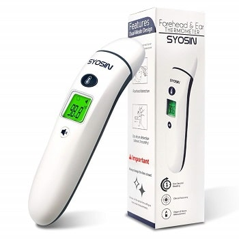 ear and forehead thermometer syosin
