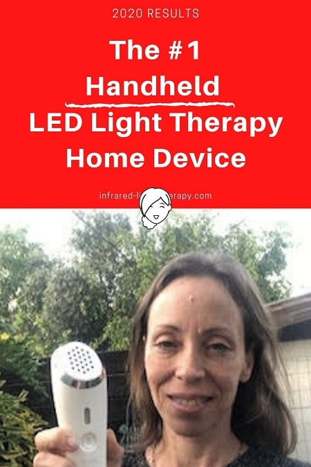 handheld light therapy device review