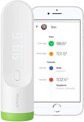 withings thermo infrared thermometer review