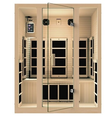 jnh 3 person joyous infrared sauna review