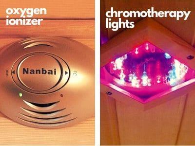 oxygen ionizer in infrared sauna