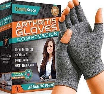 Comfy brace hand compression gloves