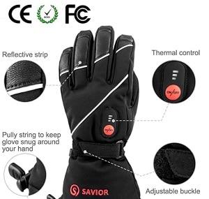 savior heated gloves for arthritis neuropathy raynaud's