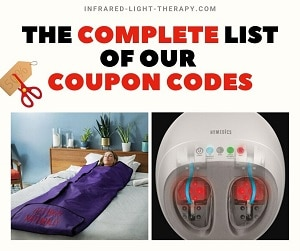 infrared light therapy coupon codes