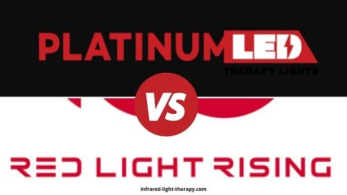Platinum LED Therapy Lights vs Red Light Rising
